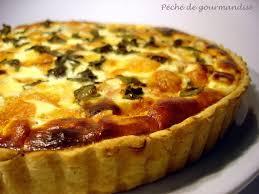 tarte à l italienne au jambon de parme et basilic péché de