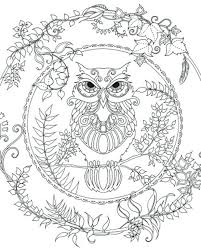 Enchanted Learning Dinosaur Coloring Pages Forest Owl Colouring Adult Detailed Advanced Printable If Garden Book