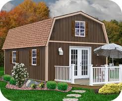 Barns Richmond 16x20 Wood Storage Shed Kit