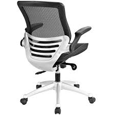 edge all mesh office chair in black lexmod