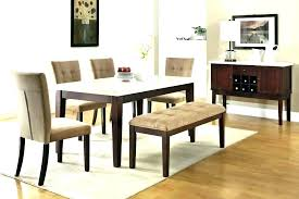 Dining Room Bench With Back Table Seat Kitchen