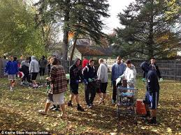 Keene Pumpkin Festival 2014 by Students Clean Up Keene State College Campus After Pumpkin