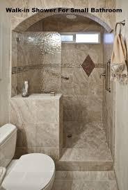 walk in shower designs for small bathroom