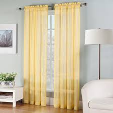 Living Room Curtains Kohls by Solid Sheer Window Curtain