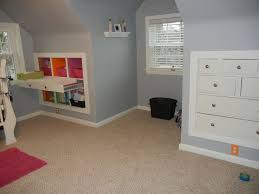 Knee Wall Storage Idea If We Could Do It Over Look At The Pull