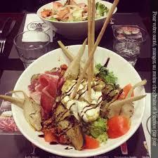 le bureau rouen restaurant salade italienne au bureau rouen