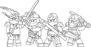 Ninjago Coloring Pages Free Printable For Kids Gallery Ideas