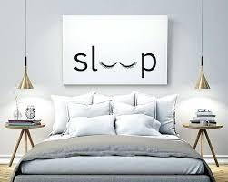 Bedrooms Wall Decorations Sleep Bedroom Printable Poster Typography Print Black White Art