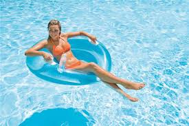 siege de piscine gonflable fauteuil gonflable maille glossy piscines