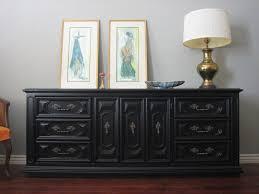 Painting Wood Furniture Black