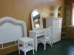 White Wicker Bedroom Furniture For Design Ideas With Tens Of Pictures Prepossessing To Inspire You 8