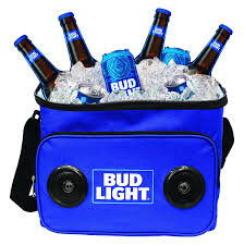Amazon Budweiser Soft Cooler Bag with Built in Bluetooth