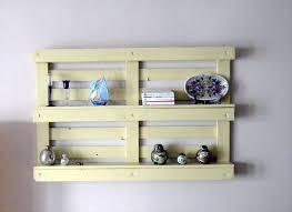 Pallet Bookshelf In Wall With Shelf Pallets Bookcase