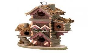Rustic Style Decor Gingerbread Birdhouse