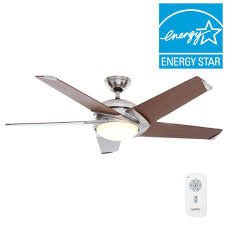 Ceiling Fan Making Humming Noise by Casablanca Stealth Dc 54 In Indoor Brushed Nickel Led Ceiling Fan