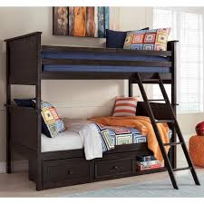 signature design by ashley jaysom twin twin bunk bed with under