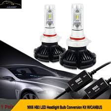 9005 hb3 led headlight bulb kit chevrolet chevy malibu impala