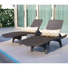 Gorgeous Chaise Lounge For Patio Cushionless Outdoor Lounge Chairs
