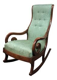 Vintage Edwardian Teal Upholstered Rocking Chair On Chairish ... Whats It Worth Gooseneck Rocker Spinet Desk Betty Bolte Building A Rocking Chair Sold Pending Pickup Gooseneck Back To School Sale Antique Childs Small Victorian Windsor Scotland 1880 B431 Franklin Clayton Rocker Recliner With Lumbar And Seat Mahogany Upholstered Walnut With Tapestry Upholstery Ebth Recliners 5598 Chaise Auction Pickers Usa Swan Arm Designs