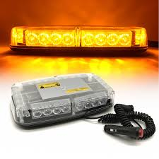 100 Strobe Light For Trucks Car Roof Strobe 24 LED Flashing Emergency Warning Lamp