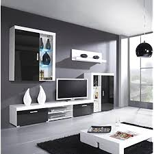 furniture24 wohnwand samba mit led beleuchtung wohnzimmer