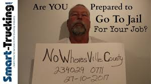 Are You Ready To Go To Jail For Your Truck Driving Job? - YouTube Trucking Driving And Office Opportunities Navajo Express Truck School Gainesville Fl 71 Best Food For Thought Images Traineeship Dump Driver Jobs Australia 5 Children Heading To Disney Killed In Fiery Florida I75 Crash Home Comcar Industries Inc Boyd Brothers Transportation Flatbed Careers Weigh Station Requirements 3 Things Drivers Should Know Sunstate Carriers Providing High Quality Customer Focused Cdl Traing Schools Roehl Transport Roehljobs You May Not About Jb Hunt Blog Resume Samples Velvet With Class B