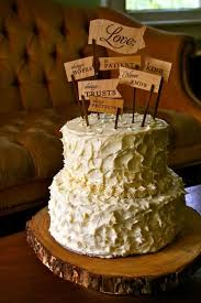 56 Best Rustic Cake Toppers Images On Pinterest