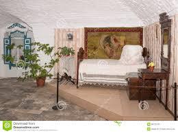das schlafzimmer auf den haus kosaken 19 jahrhundert