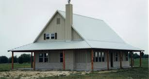 Simple Pole Barn House Floor Plans by Simple Amp Practical Metal Building Farmhouse W Porch Hq Metal