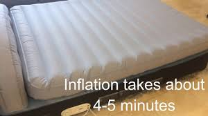 original aerobed 18 air mattress w headboard ac pump review