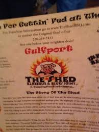 The Shed Bbq Gulfport Mississippi by 11 The Shed Restaurant Gulfport Ms 1000 Images About