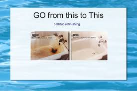 bathtub refinishing don t replace reglaze ad save 75 off full replac