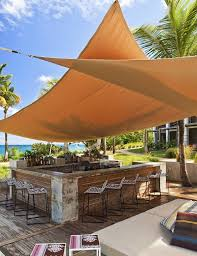 100 W Retreat Vieques Gorgeous Shade Sail Design At The Spa On