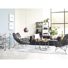 Cowan Modern Classic Black Metal Wicker Chair | Kathy Kuo Home Small Living Room Chairs Some Types Choosing Creative Home Decor Mismatched Armchairs Is The Latest Trend For Your 40 Ergonomic Design Wartakunet Special Sitting Redesign At Jordans Fniture Stores In Ma Nh Ri And Ct Mocka Patch Chair Under 200 Silver Accent Ideas Livingroom Fresh Beautiful Ikea With New Designs And Best High Back Wood Table Black Oversized
