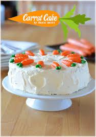 carrot cake mit frischkäse topping einfach und köstlich