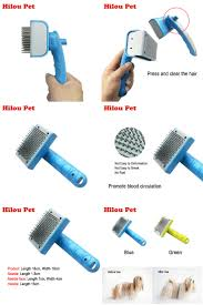 Dog Hair Shedding Blade by Visit To Buy Self Clean Dog Brush Puppy Hair Fur Grooming