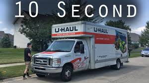 100 U Haul 10 Foot Truck 20 Second Review YouTube