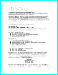 Cnc Machinist Resume Samples Free Resumes 1 Outside Sample Manual Res