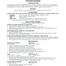 Sample Resume For Software Engineer With 2 Years Experience Doc