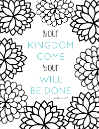 Majestic Looking Adult Bible Coloring Pages Free Printable Verse With Bursting Blossoms