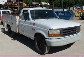 100 Ford F250 Utility Truck 1995 XL Utility Truck Item K7190 SOLD June 15