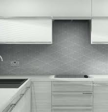 Grey Splashback Kitchen Patterned Glass Bespoke