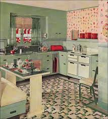 Inspiring Retro Vintage Kitchen Decor 41 HowieZine