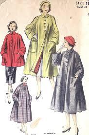 73 best vintage coat patterns images on pinterest coat patterns
