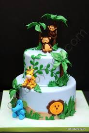Jungle Baby Shower Cake Cake by CakesbyMaylene cakes Pinterest