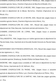 chambre agriculture oise liste des recueils des usages locaux à caractère agricole consultés