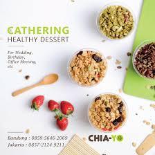 Healthy Office Snacks To Share by Healthy Dessert And Snacks By Chia Yo By Chia Yo Bridestory Com