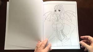 Spellbinding Images A Fantasy Coloring Book Volume 4 By Nikki Burnette