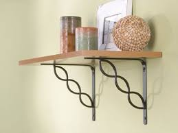 wrought iron shelf brackets designs wrought iron shelf brackets