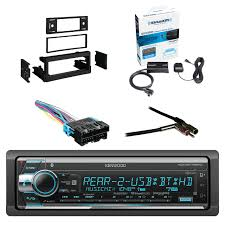 100 Truck And Van Accessories Kenwood Single Din CDAMFM Car Audio Receiver WBluetooth With